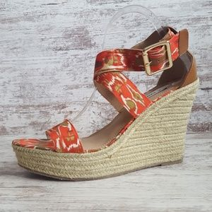 🌺Steve Madden Coral Strappy Espadrille Wedge